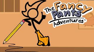 DESENHO COM VIDA !! - THE FANCY PANTS ADVENTURES