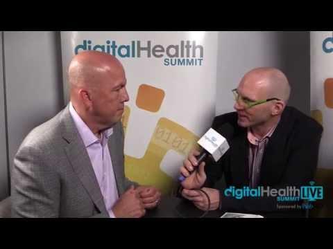 Rick Valencia and Corinne Savill, Novartis Pharma at Digital Health LIVE CES Sponsored by WebMD