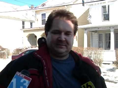 Drunk guy on the news (original)