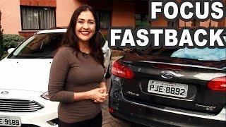 TESTE: Andamos no Novo Ford Focus Sedan, agora batizado de Focus Fastback. O sedã médio traz visual renovado, alto nível de equipamentos e boa dirigibilidad...