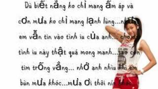 Mưa Ơi Thôi Đừng Khóc-Trương Quỳnh Anh-[lyrics]