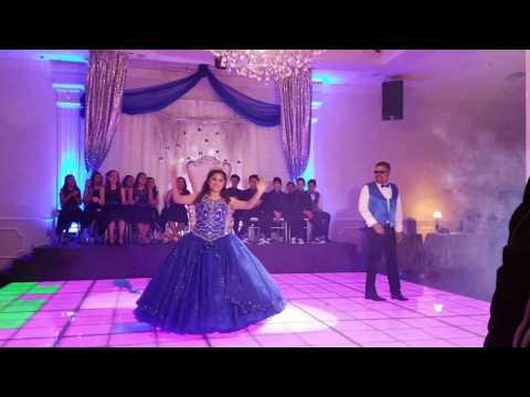 Victoria's Daddy daughter dance (surprise dance)