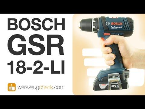 Geiler Profi-Akkuschrauber zum Schnäppchenpreis (Bosch GSR 18-2-Li Hands-On)