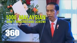 Video 360° Indonesia kalah dengan Malaysia dalam pidato Jokowi - VR 4K by ARTBiZ MP3, 3GP, MP4, WEBM, AVI, FLV Agustus 2018