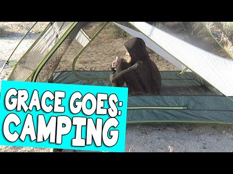 GRACE GOES: CAMPING // Grace Helbig