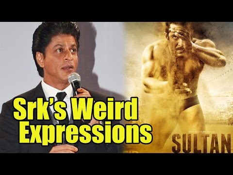 Shah Rukh Khan's Weird Expressions When Asked Abou