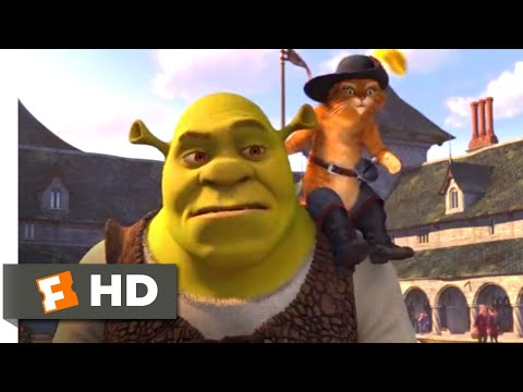 Shrek the Third (2007) - Medieval High School Scene (3/10) | Movieclips