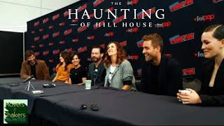 2018 New York Comic Con EXCLUSIVE: Netflix's THE HAUNTING OF HILL HOUSE Press Conference