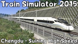 Suining China  City pictures : Train Simulator 2015: Chengdu - Suining High Speed with CRH380D (Morning Express)