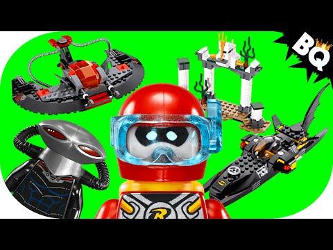 Vidéo LEGO DC Comics Super Heroes 76027 : L'attaque des profondeurs de Black Manta