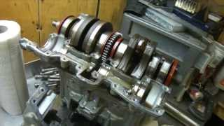 8. Seadoo engine tear down Part2 the flying flywheel