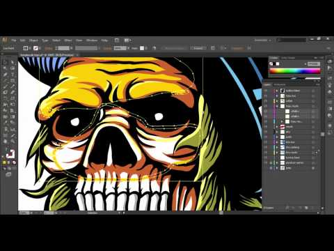 (TUTORIAL) Tracing Dan Cabut Warna - Adobe Illustrator Dan Corel Draw (Bahasa Indonesia)