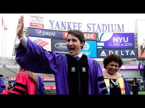 Justin Trudeau's full commencement speech to NYU graduates