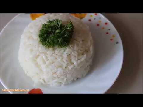 COMO HACER ARROZ BLANCO CON AJO-SUPER FACIL- HOW TO MAKE WHITE RICE, EASY RECIPE-LACACEROLADESILVANA