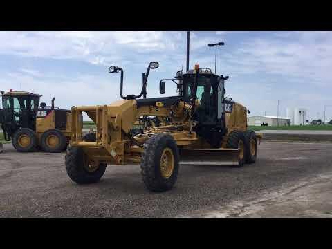 CATERPILLAR MOTORGRADER 12M2 equipment video Vs8IlzhjRps