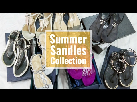 Summer Sandals Collection 夏日T字涼鞋分享
