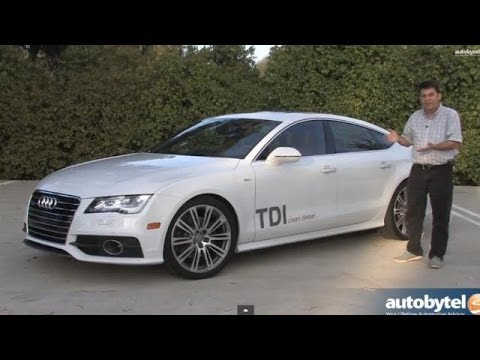 2014 Audi A7 TDI Test Drive & Diesel Car Video Review