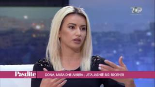 Tema: Të eleminuarit nga Big Brother Te ftuar: Dona Pjetri, Musa Zeneli, Ambra Muji Të eleminuarit nga Big Brother Albania 9.