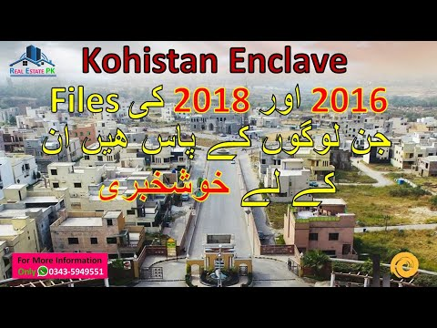 Kohistan Enclave Wah Cantt Development Great News for 2016/18 File Holders | Sui Gas NOC Issued