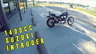 1. First Cruiser Ride Ever! | 2002 1400cc Suzuki Intruder