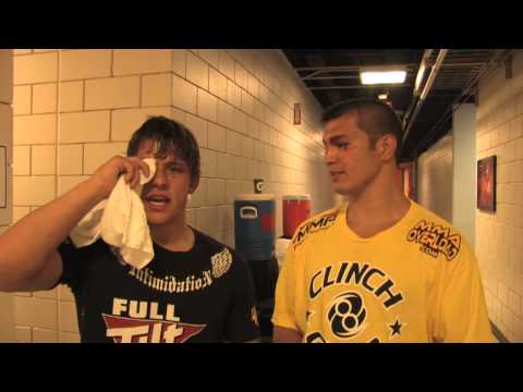 Roger Bowling and Bobby Voelker Post Fight Interview