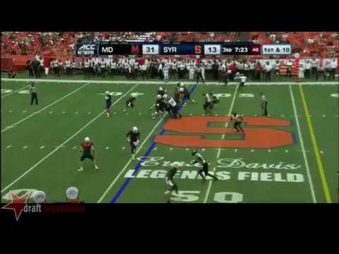 Sean Hickey vs Maryland 2014 video.