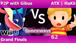 Gibus (Greninja/Mewtwo) vs HaKii (Lucas/Samus) – A crazy Grand Finals at Dallas' 130 man weekly