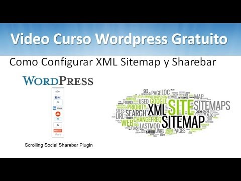 16 Tutorial WordPress – Como Configurar XML Sitemap y Sharebar