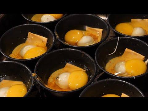 치즈 베이컨 계란빵 / cheese bacon egg bread / korean street food