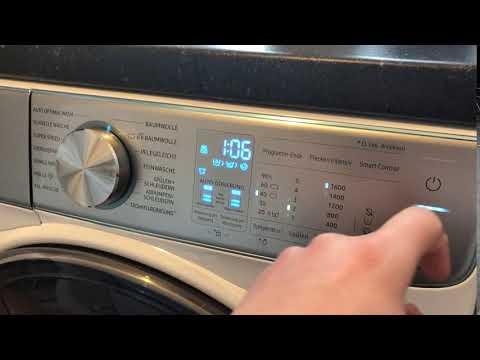 Samsung quickdrive™ ww m bqoa eg waschmaschine mit u min