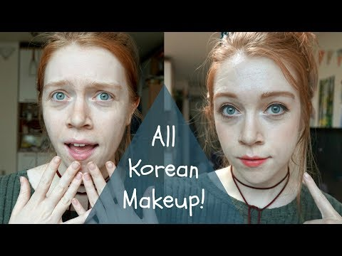 Make up - Everyday Makeup using only Korean Products!  Living in Korea  Madi Miso