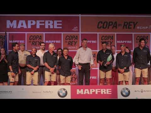 Don Felipe preside la Entrega de Trofeos de la 37 Copa del Rey MAPFRE