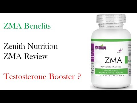 What is ZMA Supplement ? Benefits of ZMA  Zenith Nutrition ZMA Review  Testosterone Booster ?