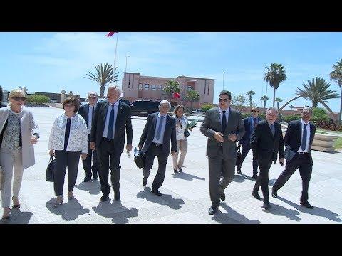 وفد عن مجموعة الصداقة البرلمانية الفرنسية المغربية يزور الداخلة
