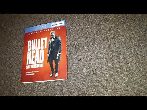 Bullet Head Blu Ray Unboxing 03-11-2018