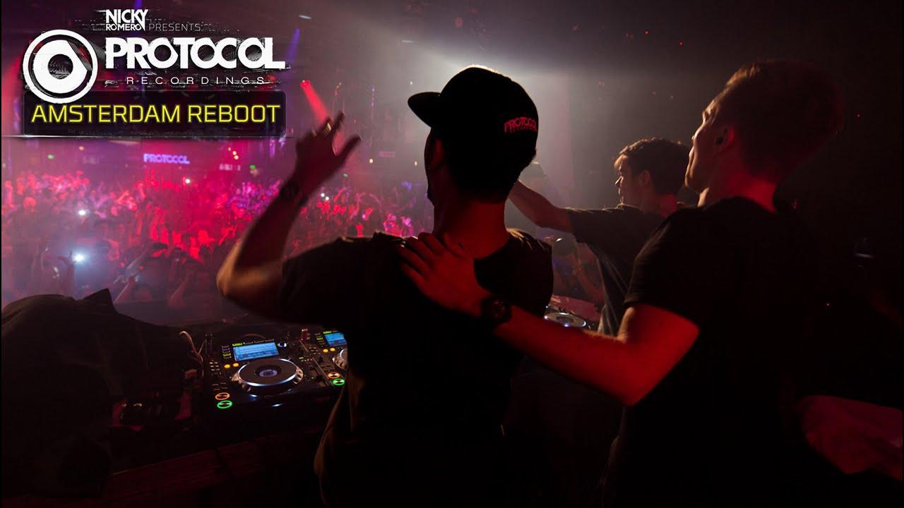 Nicky Romero, Martin Garrix, Afrojack - Live @ Protocol 'ADE Reboot' 2014