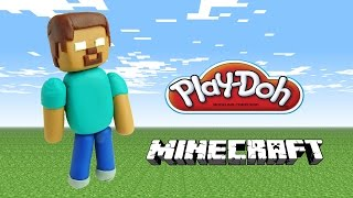 Playdoh Minecraft Herobrine - How To Make With Playdough