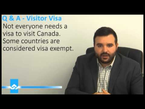 Do I need a Visitor Visa to Canada Video