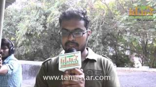 Sathyamurthy at Charles Shafiq Karthiga Movie Team Interview