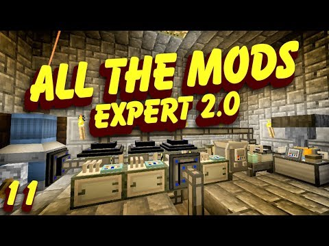 All The Mods Expert 2.0 | Rockhounding Automation | Episode 11