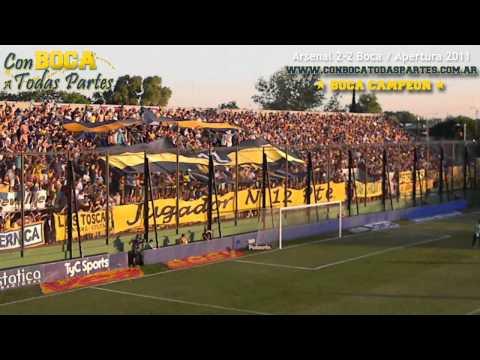 Vayas donde vayas voy a ir - Boca mi vida, es la alegría - La 12 - Boca Juniors