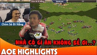 SIÊU KINH ĐIỂN với trận đấu nhà BẦY VOI của Chim Sẻ Đi Nắng | AoE Highlight