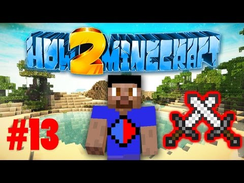 Minecraft SMP HOW TO MINECRAFT S2 #13 'PVP DUEL!' with Vikkstar