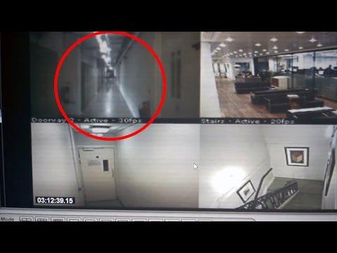 catturato fantasma dalla telecamera di sicurezza di un hotel