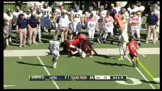 Geno Smith vs Texas Tech (2012)