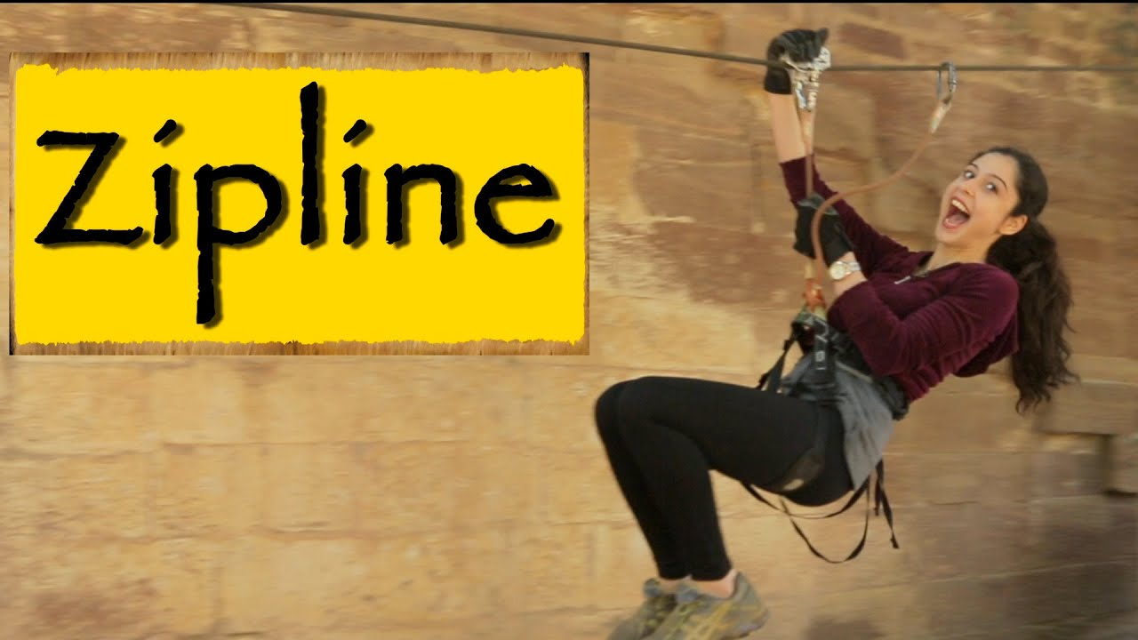 Adventure Sports in Jodhpur| Zipline Tour — Mehrangarh Fort