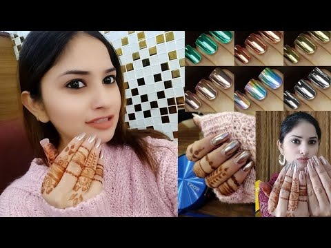 Gel nails - My Gel Nail Extension & Chrome Nails  Your Questions - My Answers
