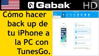 Si no entendes mucho como usar iTunes, acá te muestro un programa que es mas potente y fácil de usar para que puedas hacer prácticamente lo que quieras con tu IphoneBajalo desde acáDownload: https://goo.gl/lgfSQyiPhone Transfer: https://goo.gl/08N1CliPhone Ringtone maker: https://goo.gl/STrCNNiPhone Backup: https://goo.gl/jBL4WKInstrucciones TunesGo, it is a phone manager which could help you manage your files between iOS, iTunes, and PC.1) iPhone transfer-transfer music/photo from PC to iPhone and vice versa-https://tunesgo.wondershare.com/tunesgo-for-ios/transfer-music-from-computer-to-iphone-ipad-ipod.html  ; https://tunesgo.wondershare.com/tunesgo-for-ios/transfer-photos-from-computer-to-iphone-ipad-ipod-touch.html2) Phone to Phone Transfer:https://tunesgo.wondershare.com/tunesgo-for-ios/1-click-phone-to-phone-transfer.html4)one-click backup iPhone to PC:https://tunesgo.wondershare.com/tunesgo-for-ios/1-click-backup-photos-to-pc-mac.html3) Ringtone Maker for iPhone- make ringtone and add ringtone to your iPhone:https://tunesgo.wondershare.com/tunesgo-for-ios/ringtone-maker-for-iphone.html  Queres asesoramiento? Contratame en www.gabaktech.com/servicios Si queres asesoramiento gratuito hace tu pregunta en el forohttp://www.gabaktech.com/forum/Queres seguirme? REDES SOCIALEShttps://www.facebook.com/gabaktechhttps://www.twitter.com/gabaktechhttps://instagram.com/gabaktech/Queres seguirme en VIVO desde tu celular?PERISCOPE: Gabaktechpodes preguntarme en vivo lo que necesitesQueres una playera (remera) o tasa de GABAK? Entra acá:http://gabaktech.spreadshirt.com/Queres ayudarme economicamente $$$ ??En paypal manda $$ acá paypal@gabak.com.arO en PATREON http://www.patreon.com/gabaktechToda colaboración ayuda para que podamos seguir produciendo contenido de alta calidad, con tu ayuda podemos llegar mas lejo.Ayudarme a generar subtítulos para mis videos en http://www.youtube.com/timedtext_cs_panel?tab=2&c=UCC_elZTkR8yq7jhCyT6omeg