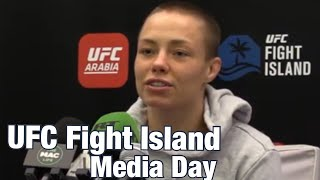 Rose Namajunas: Grieving and Getting Desire Back for Fighting | UFC 251 Fight Island by MMA Weekly