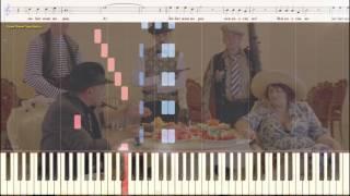 """Народная любовь - гр. """"Ленинград"""" (поют дети) (Ноты и Видеоурок для фортепиано) (piano cover)"""